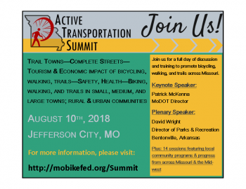 2018 Missouri Active Transportation Summit