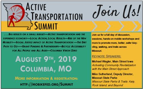 Active Transportation Summit invitation