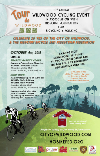 Tour de Wildwood 2015 poster