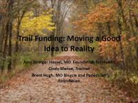 Trail Funding: Moving a Good Idea to Reality