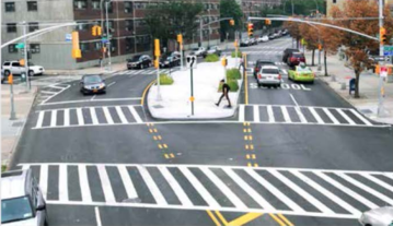 Vision Zero--with a goal of eliminating traffic fatalities and serious injuries-