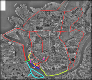 Warsaw's trails and bikeways plan - the plan connects Warsaw to the region and r