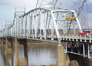 The existing Hwy 47 river bridge is narrow with no shoulders and at end-of-life